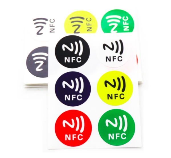 NFC Stickers On Metal