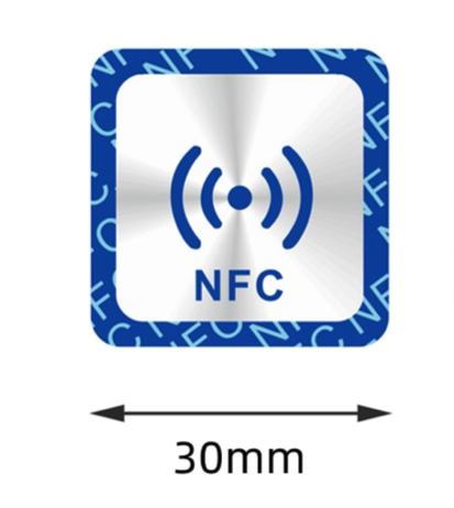 NTAG213 Vierkant NFC Chips